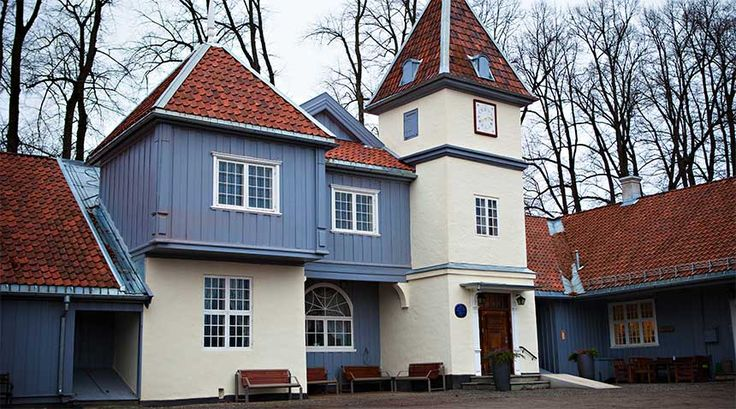 Nordre Skøyen Hovedgård historiske selskapslokaler i Oslo