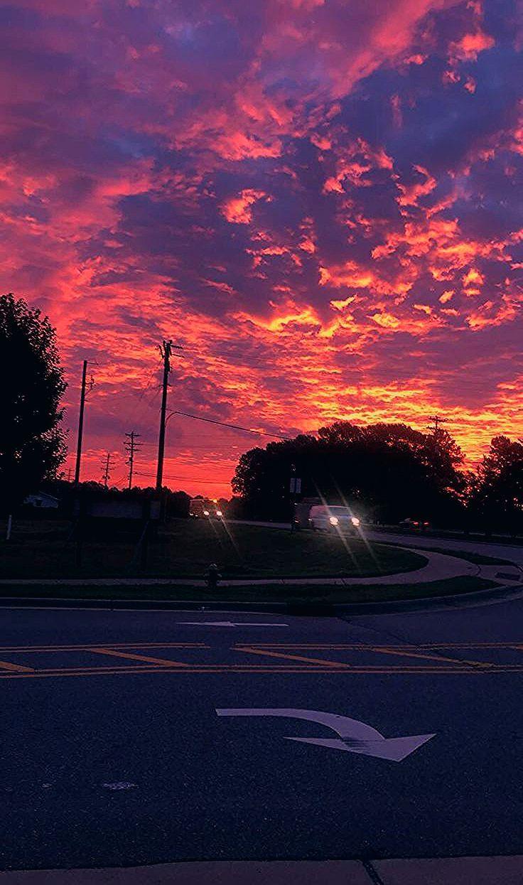 sunrise - #planodefundo #sunrise  Sky aesthetic, Pretty sky