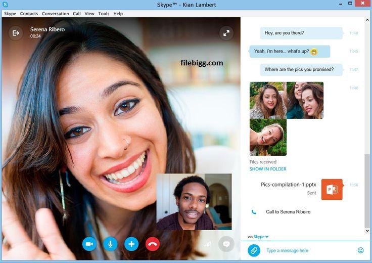 Free Download Software Skype 7.10.0.101 - filebigg.com