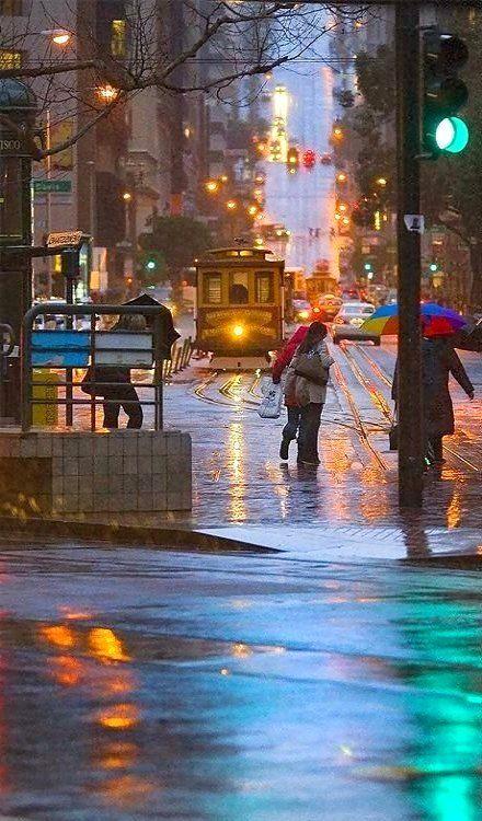 Rainy day.. San Francisco, California