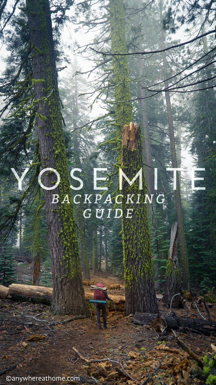 Yosemite National Park Backpacking Guide
