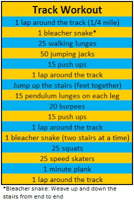 Best 20 Track Workout Ideas On Pinterest Running