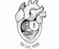 A tattoo I would be willing to have to mean I will always love you if my future wife/husband pass away