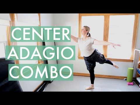 Hi, back again with another example of my ballet class music selections being used for ballet instruction, in this case, an adagio (near the end):  https://youtu.be/YyFz4iR9gRg  For more info visit http://www.rlongballetmusic.com