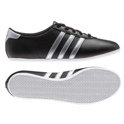 Baskets NULINE W femme adidas Originals Noir/gris- Vue 1