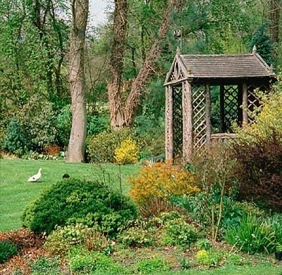 A Humphrey Repton Design Summerhouse Made Of Pine Cedar