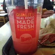Wendy's Restaurant Copycat: Strawberry Lemonade ... because I LOVE that lemonade and I don't love spending $35/week on it.  Don't judge me.