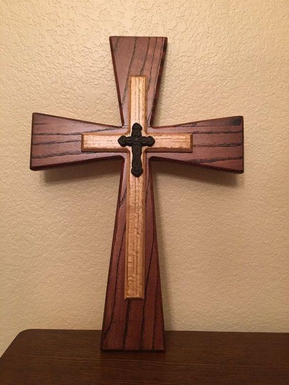 Best 25+ Wooden cross crafts ideas on Pinterest | Cross decorations, Burlap cross and Cross selling
