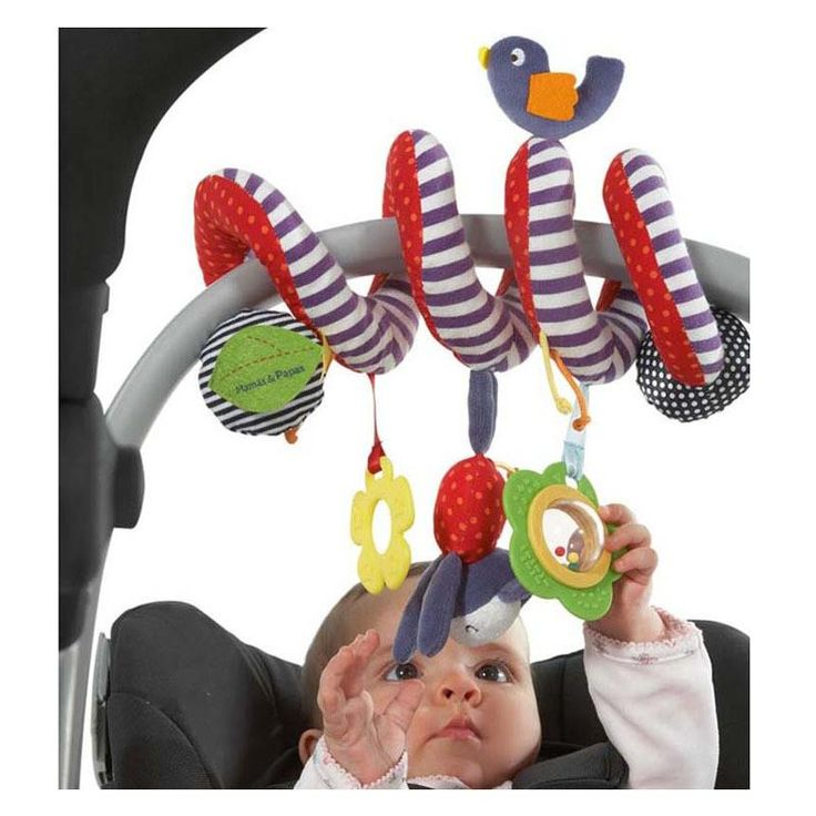 Mamas Papas Stroller Musical Multifunctional Car/bed/crib Hanging Bell Newborn Baby Educational Rattles Mobiles Toys for babies