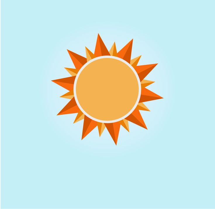 The sun icon in my interpritate  by Аня Баганец