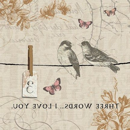 Three Words... I Love You -- Words that count III (Pela Studios)