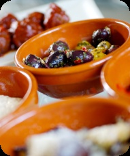 Voorspoed. Lekkere tapas in Mortsel. Vegetarisch, vis en vlees.