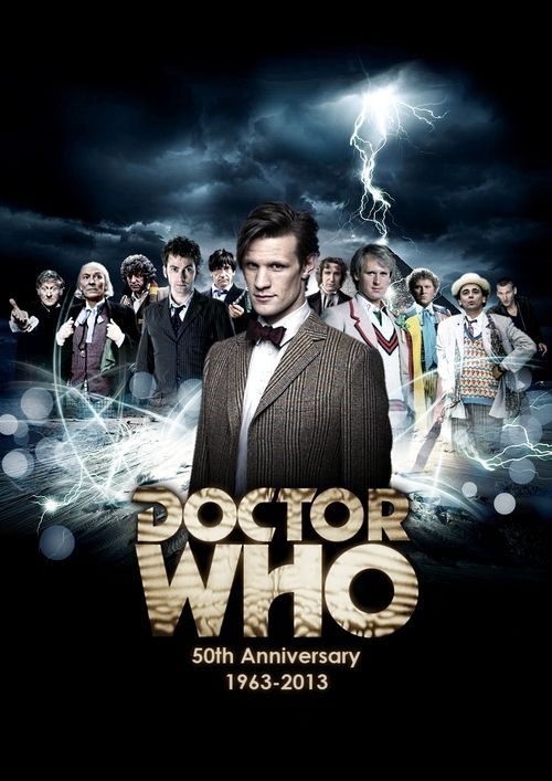 50th Anniversary poster. I am so addicted to this show