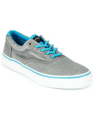 Sperry Top-Sider Shoes, Striper Laceless Canvas Neon Shoes - Sperry Top-Sider - Men - Macy's