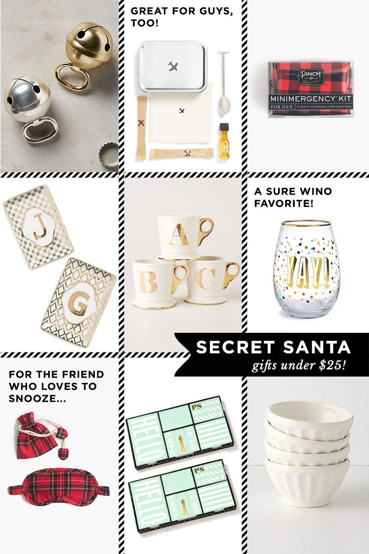 The Best Secret Santa Gifts Under $25!The Golden Girl