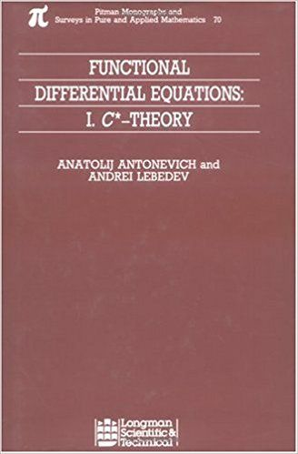 Resultado de imagen de functional differential equations antonevich