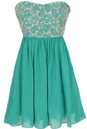 Stars In The Sky Sequin Lace Overlay Designer Dress by Minuet in Teal  www.lilyboutique.com