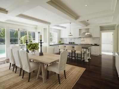 love this entire space! kitchen / dining