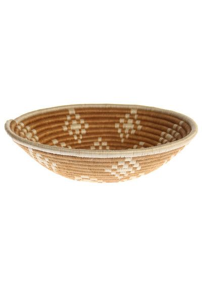 Woven Coffee Table Bowl