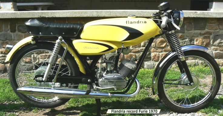 Flandria Rekord Furie 1970 Brommers Pinterest