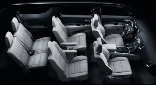 list of 3rd row suvs with 2nd row captains chairs | love
