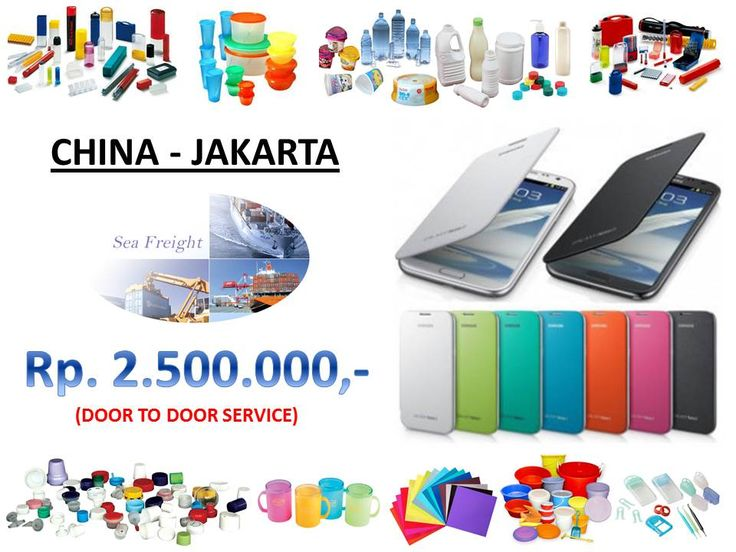 Special price for door to door service from China to Jakarta for plastic product (HP casing)