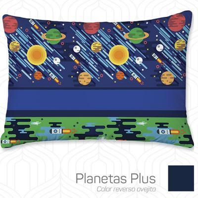 Almohada Decorativa Micrograbada Planetas