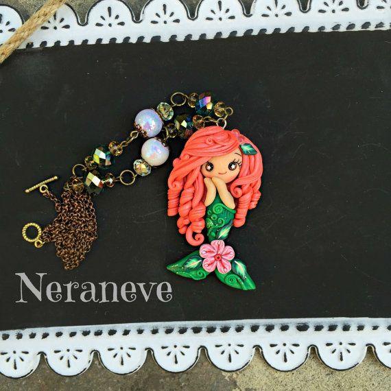 Trotella fiorita di NeraneveStella su Etsy