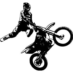 160 best motocross images on pinterest dirtbikes dirt bikes and motocross wall decal for the baby boys room fandeluxe Gallery