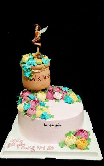 https://m.facebook.com/le.n.yen.7?ref=bookmarks #rosebuttercream #cakeart #cakeforgirl #sweetcake