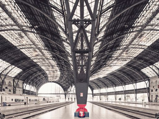 Alvia Train Station, Barcelona © Franck Bohbot: Training Stations, Empty Spaces, Franck Bohbot, Franckbohbot, Urban Landscape, Architecture Photography, Barcelona Spain, Art Projects, Architecture Design