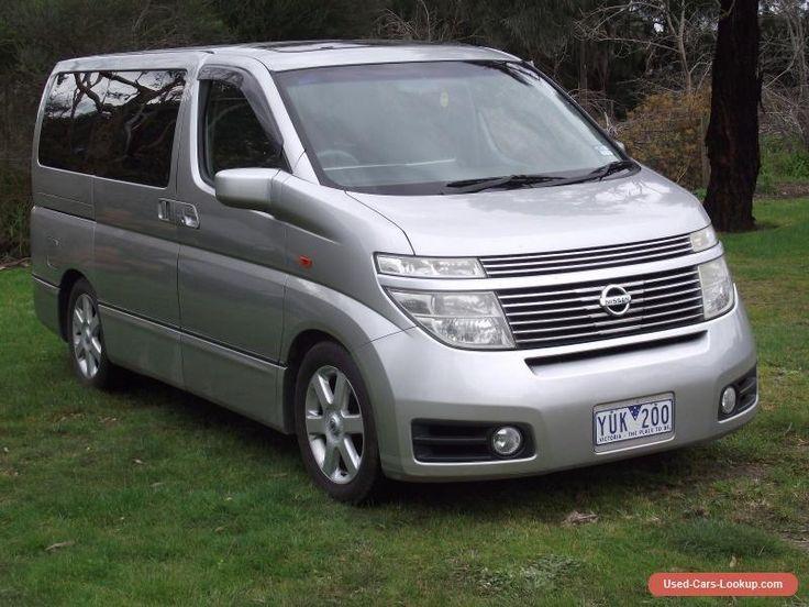 R34 For Sale Canada >> Nissan Elgrand 8 seater Mini Bus #nissan #forsale #australia   Cars for Sale   Pinterest   Mini ...