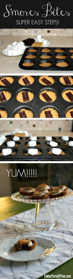 Yummmm! Need I say more? What could be better than s'mores without the hassle of a fire???