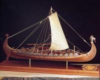 1406/01 Корабль викингов дракар (NAVE VICHINGA) IX век