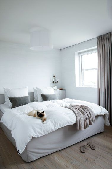It's even got my cat lying on the bed already! my scandinavian home: Home of a Danish interior designer