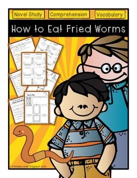 11 best how to eat fried worms images on pinterest teaching how to eat fried worms novel study unit ccuart Choice Image