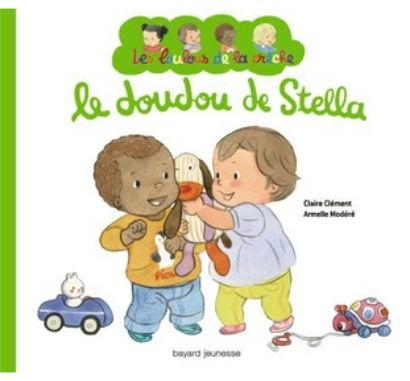 Le doudou de Stella, £7.25 from The Bilingual Bookshop