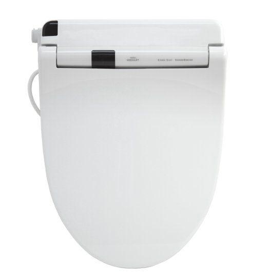 TOTO SW554-01 Washlet S300 Elongated Front Toilet Seat, Cotton White