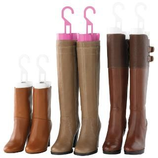 The Container Store U003e Inexpensive Boot Shapers With Hook · Closet Shoe  StorageBoot ...