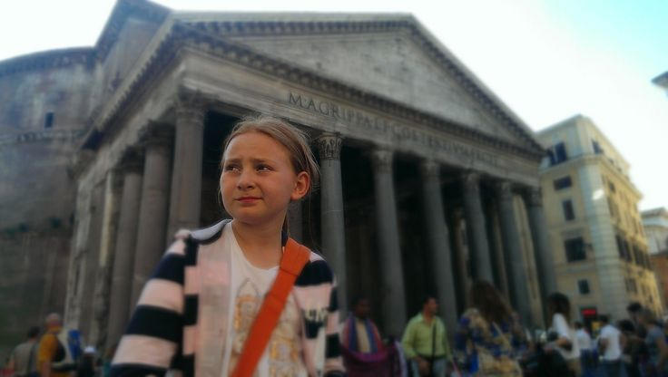 At the Pantheon