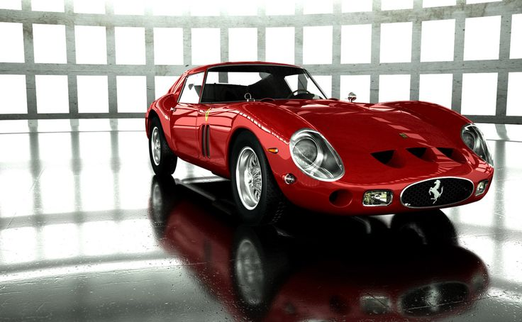 1963 Ferrari 250 GTO - when I was 12, this was the car of my dreams. I built the Cox 1/24 scale model slot car and used it for all my racing (anyone else remember when slot cars were all the rage?)
