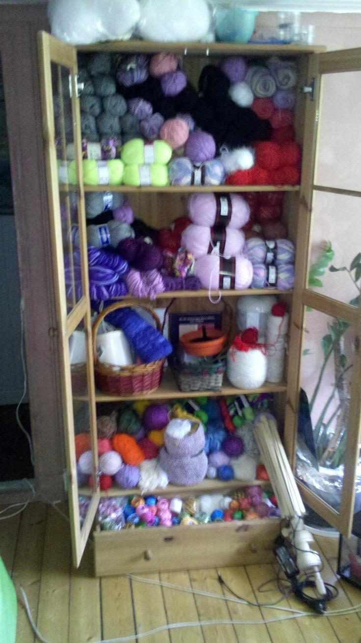 Attractive Yarn Cabinets