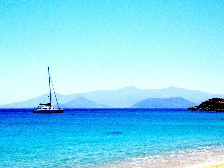 Παραλία Αγίου Προκοπίου (Agios Prokopios Beach) in Νάξος, Κυκλάδες