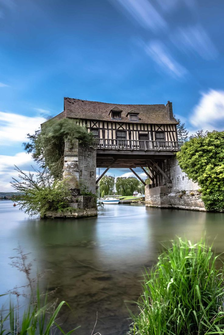 The 16th century mill of Vernon in Normandy, France Stone & Living - Immobilier de prestige - Résidentiel & Investissement // Stone & Living - Prestige estate agency - Residential & Investment www.stoneandliving.com