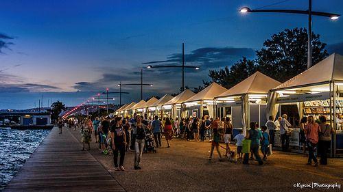 ● Thessaloniki Book Fair in Nea Paralia. Το δημοφιλές φεστιβάλ βιβλίου στην Νέα Παραλία Θεσσαλονίκης  ● #thessaloniki #book #fair #festival #event #nea #paralia #greece #macedonia #θεσσαλονικη #φεστιβαλ #βιβλιου #νεα #παραλια #ελλαδα #μακεδονια