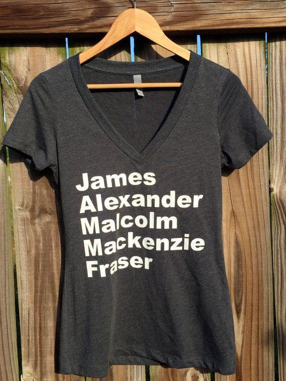 Outlander Tshirt jammf by MDCG on Etsy