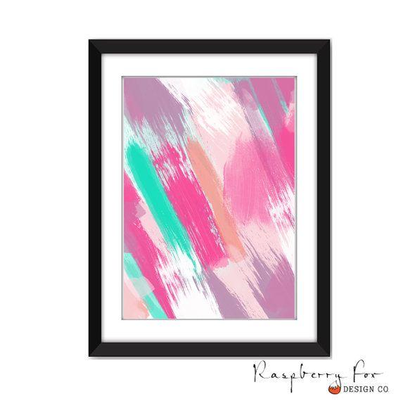 Digital Print - Abstract Acrylic