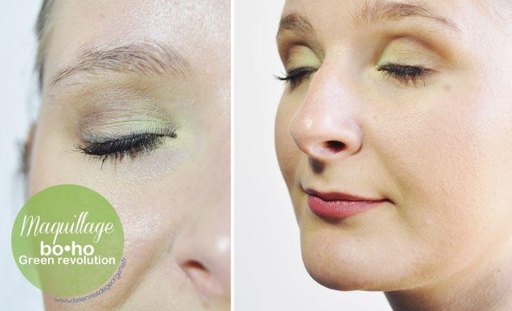 Swatchese della matita occhi e labbra 206 di BoHo Cosmetics BoHo Green Revolution. In Bottega a soli 7,00€
