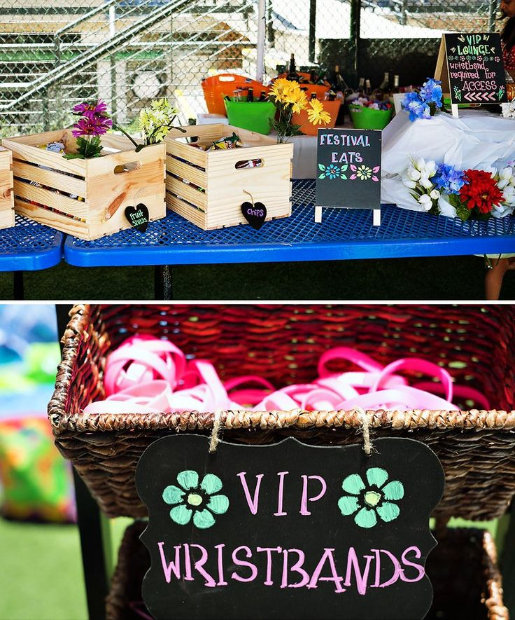 Cool Coachella Inspired First Birthday Party // Hostess with the Mostess®