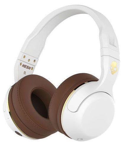 Skullcandy Hesh 2 Wireless White/Gold - Thomann www.thomann.de #headphones #gift #lifestyle #style #white #beautiful #fashion #brown #skull #gold